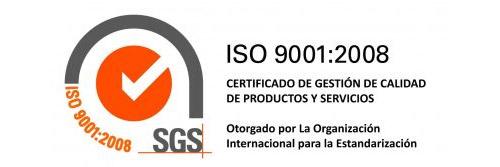 Olivac Hispanica S.L. Certificado de Calidad ISO 9001